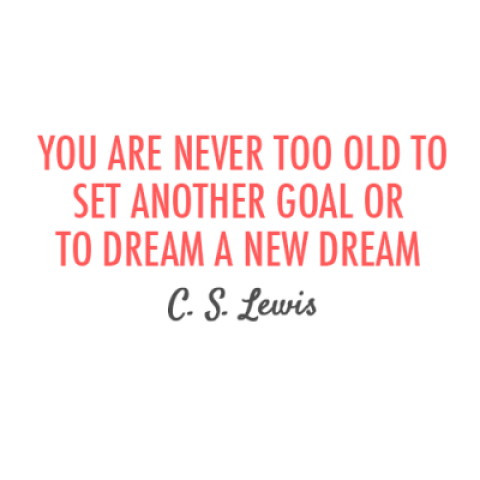 Quote of the Day: C.S. Lewis on Infinite Possibilities at Any Age