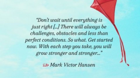 Quote of the Day: Mark Victor Hansen on Taking Action