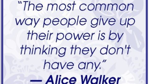 Quote of the Day: Alice Walker on Realizing Your Potential