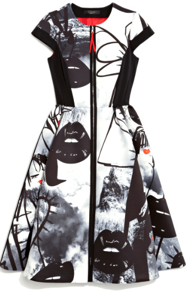Pictured: Giles Atom Age Neoprene A-line Dress.