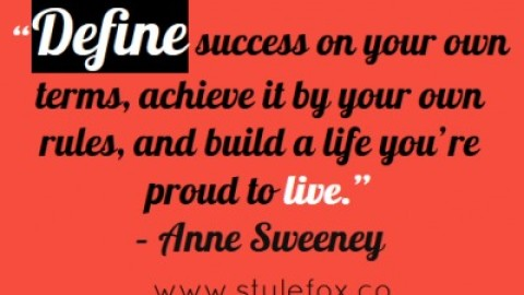 Quote of the Day: Anne Sweeney on Living by Your Own Terms