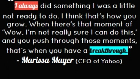 Quote of the Day: Marissa Mayer on Taking Risks