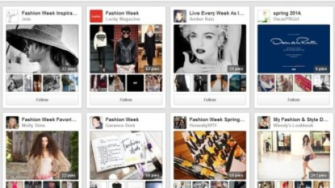 Pinterest Partners with Top Brands for Massive Fashion Week Hub