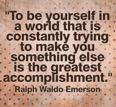 Quote of the Day: Ralph Waldo Emerson on Being Yourself