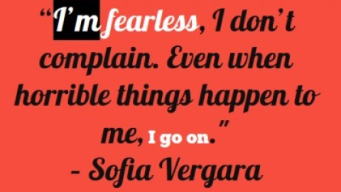 Quote of the Day: Sofia Vergara on Tenacity