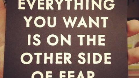 Quote of the Day: George Addair on Breaking Through Fear