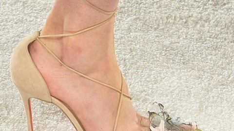 Swoon: Christian Louboutin's Unattainable Shoes for Marchesa Spring '14