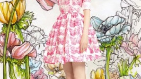 First Look: Red Valentino RTW Spring '14, So Cute We Could Scream