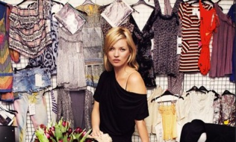 New Kate Moss for Topshop Collection to Debut in April