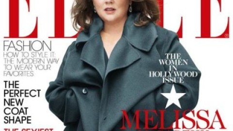 Melissa McCarthy Covers ELLE, Looks Amazing, Period