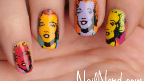 Swoon: Marilyn Monroe Inspired Nail Art