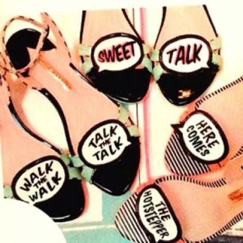 Let's Talk About Sophia Webster's Adorable Conversational Flats