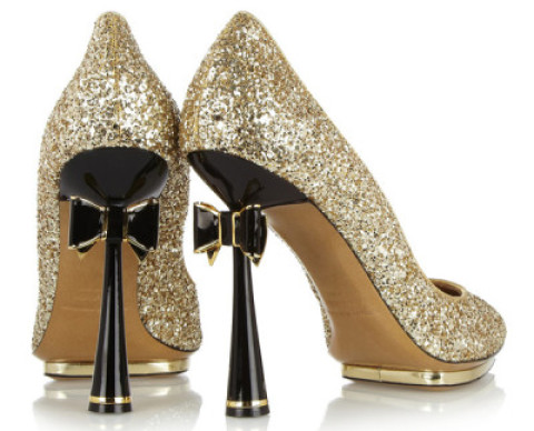 Shoe Tease: Nicholas Kirkwood's Impossible-to-Find Glitter Bow Pumps