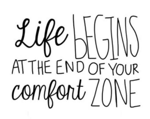 A Little Monday Motivation: Get Uncomfortable!