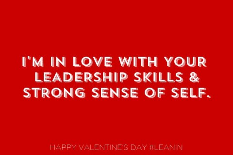 Lean In: Happy REAL Valentine's Day to YOU!