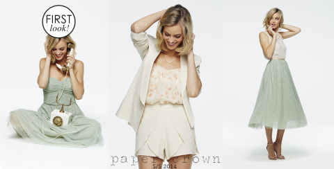 First Look: Lauren Conrad's Spring 2014 Paper Crown Collection