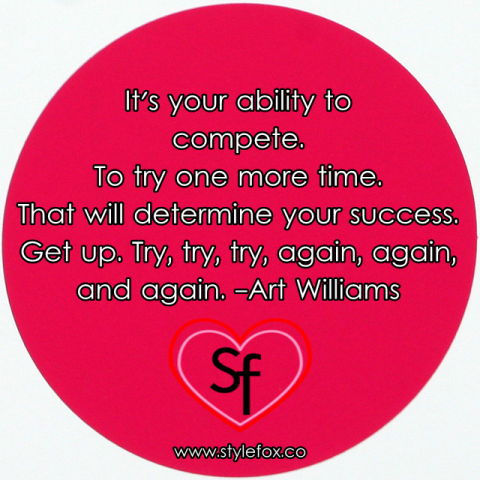 Quote by Art Williams on Grit & Perseverance