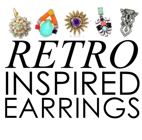 10 Gorgeous Reasons to Wear Art Deco Earrings Right Now