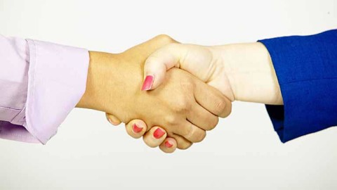 "Life Stuff: Let's Talk About The Overly ""Firm"" Handshake"