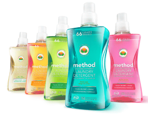method's new detergent: stylish, colorful, with modern scents!