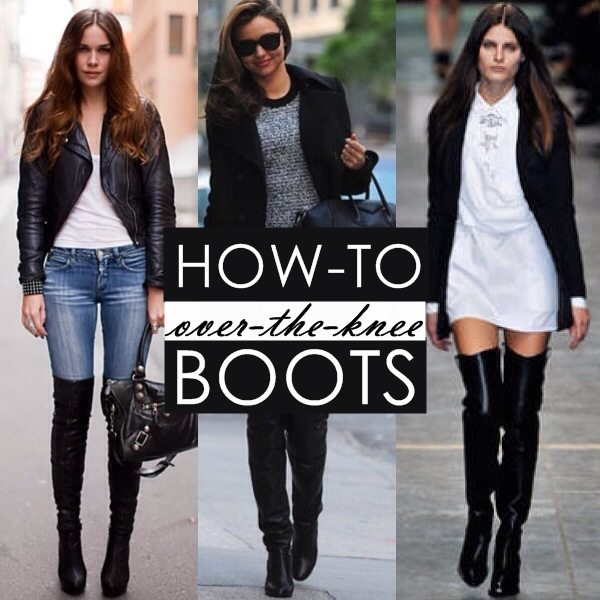 Trending: How To Wear Tall Over-the-Knee Boots