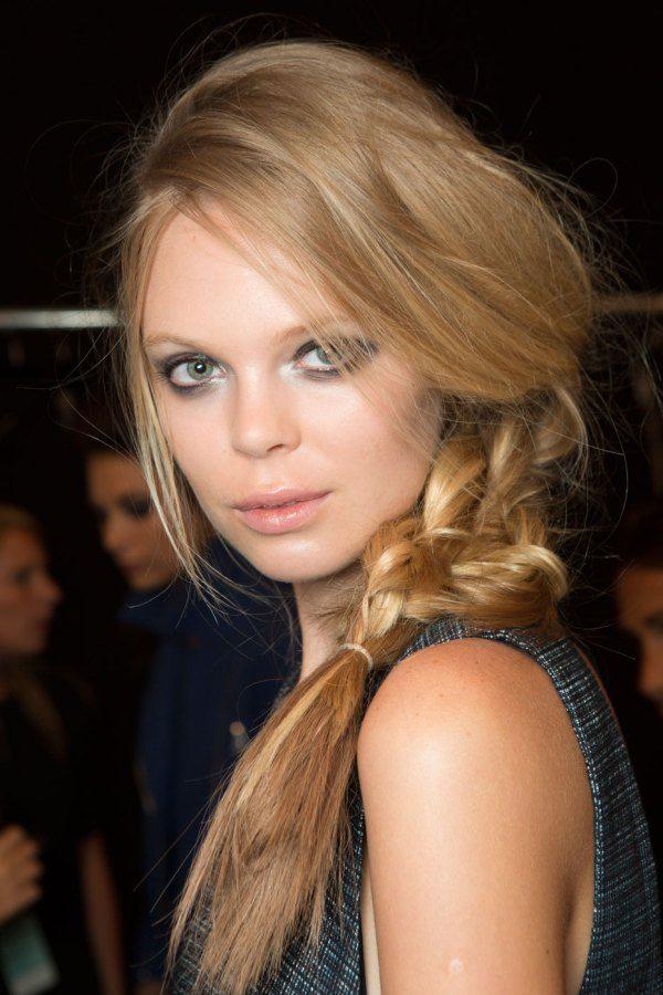 runway report spring 2015 hair amp makeup trends