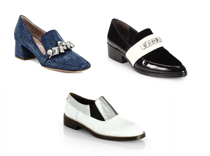how to wear flat shoes on a night out