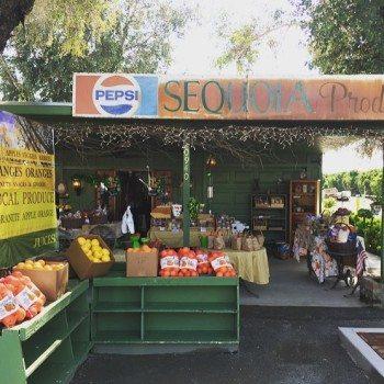 California's abundance of farmer's markets.