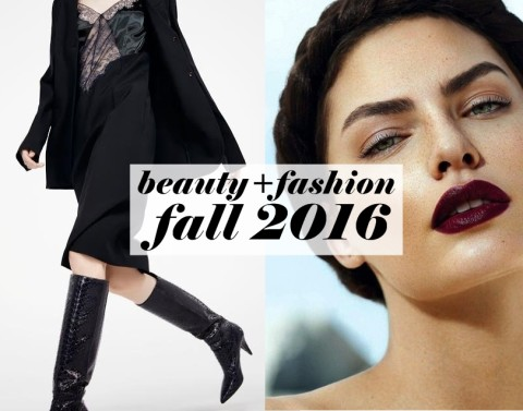 Fall 2016's Biggest Fashion & Beauty Trends