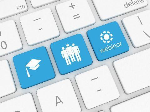E-Learning - internet education, webinar