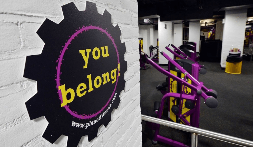 Planet Fitness is all about providing a positive judgement-free environment.