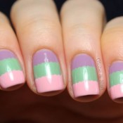 Try vertical or horizontal stripes in multiple colors for a fun, retro look. credit: globeandnail.com