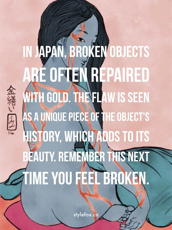 Kintsugi The Japanese Art Of Beauty In Brokenness