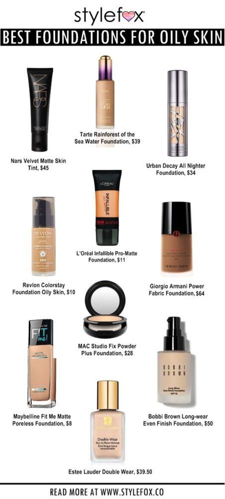 Best Makeup For Summer Oily Skin